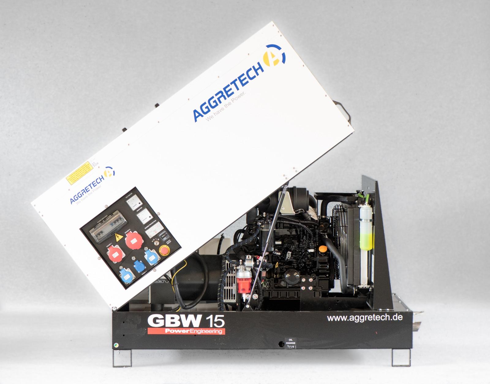 Notstromaggregat GBW 15 von Aggretech