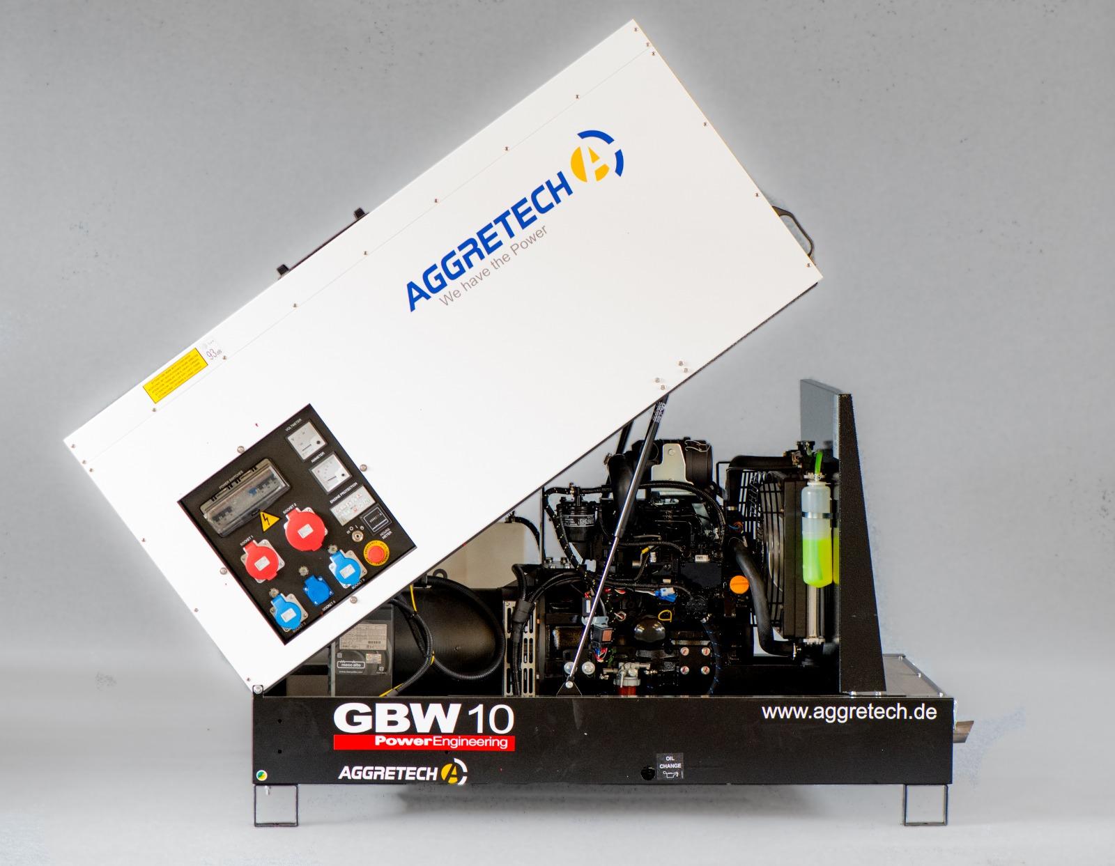 Notstromaggregat GBW10 von Aggretech