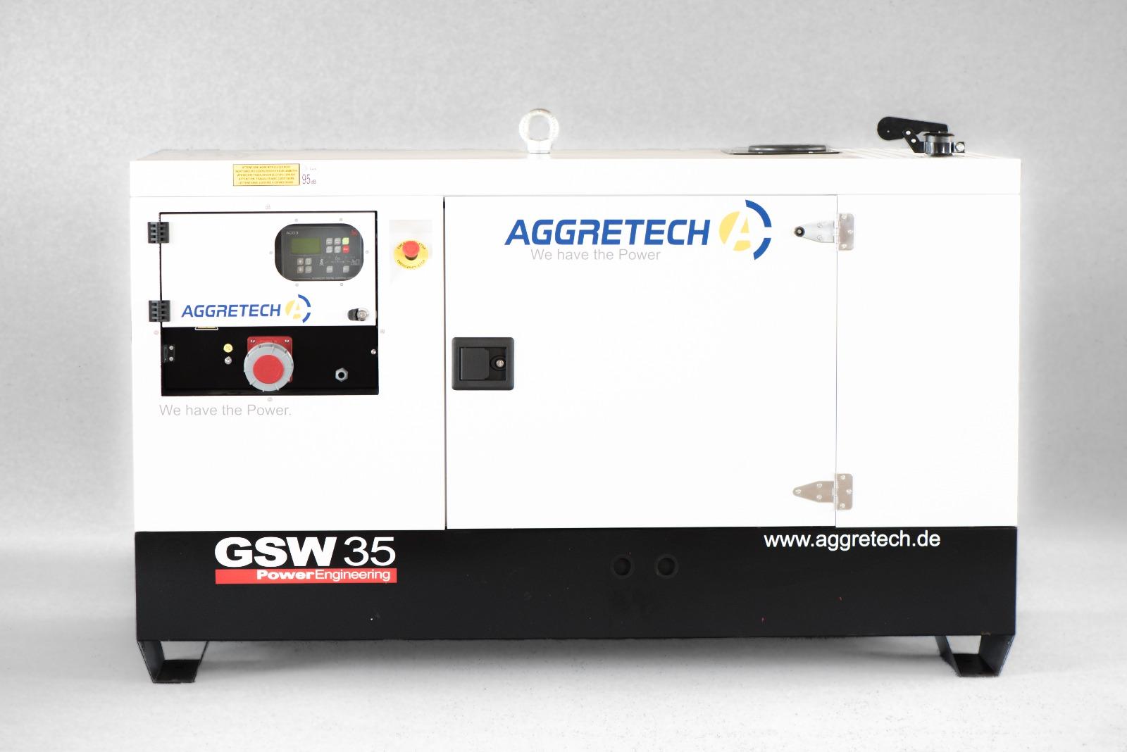 Notstromaggregat GSW35 von Aggretech